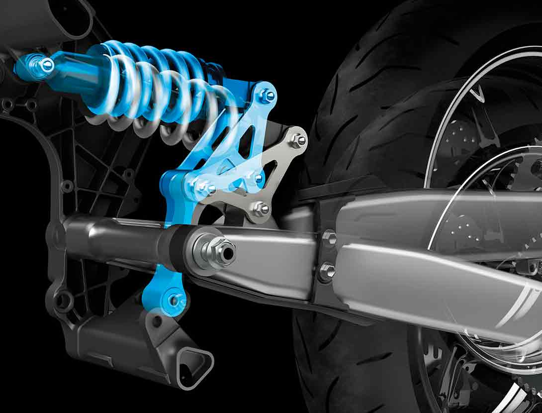 Horizontal Back Link Rear Suspension
